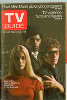 1969 TV Guide Jul 12 Mod Squad Southern Ohio edition Very Good - No Mailing Label  [Loose at staples, creasing and wear on cover; contents fine]