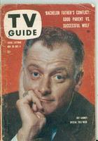 1959 TV Guide Nov 28 Art Carney Colorado edition Very Good - No Mailing Label  [Sl loose at staples, heavy scuffing on cover, contents fine]