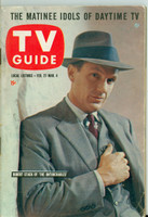 1960 TV Guide Feb 27 The Untouchables (First Cover) Chicago edition Excellent - No Mailing Label  [Lt wear on cover, ow clean]