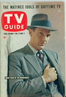 1960 TV Guide Feb 27 The Untouchables (First Cover) Pittsburgh edition Excellent to Mint - No Mailing Label  [Very lt wear on cover, ow very clean]