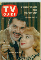 1960 TV Guide May 14 Ernie Kovacs and Edie Adams Pittsburgh edition Very Good to Excellent - No Mailing Label  [Lt wear and scuffing on cover; contents fine]