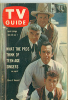 1960 TV Guide Jun 25 Bonanza (First Cover) Eastern New England edition Excellent - No Mailing Label  [Lt wear and scuffing on cover; contents fine]