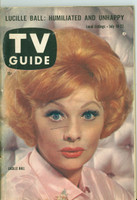 1960 TV Guide Jul 16 Lucille Ball Chicago edition Very Good to Excellent - No Mailing Label  [Lt wear, stray pen mark on cover; contents fine]
