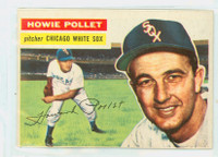 1956 Topps Baseball 262 Howie Pollet Chicago White Sox Very Good to Excellent