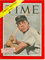 Time Magazine July 26, 1954 Willie Mays of the New York Giants Good [Binding 3/4 split, wear and scuffing on cover; contents fine (86 pgs)]