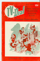 1951 TV Dial Dec 22 Christmas Shows (32 pages) Cincinnati-Dayton edition Very Good to Excellent  [Lt scuffing and wear on cover; ow clean]