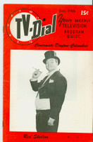 1952 TV Dial Jan 19 Red Skelton (32 pages) Cincinnati-Dayton edition Excellent to Mint  [Very lt wear, ow very clean]