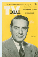 1952 TV Dial Sep 6 Ted Mack (32 pages) Cincinnati-Dayton edition Near-Mint  [Very lt wear, ow very clean]