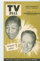 1953 TV Dial Feb 7 Kid Galivan (32 pages) Cincinnati-Dayton edition Very Good to Excellent  [Very lt wear, ow clean]