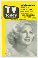1954 TV Today Rozanne (24 pages) Michigan - Ohio Edition No Region edition Excellent  [Lt wear on both covers, contents great]