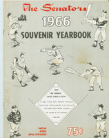1966 Senators Yearbook (58 pg) Excellent Lt toning along binding, minor staining on cover; contents fine