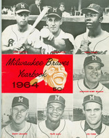 1964 Braves Yearbook Near-Mint Very Clean