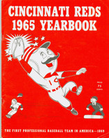 1965 Reds Yearbook (90 pg) Excellent Corner crease on several front and back pages, ow very clean