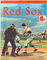 1960 Red Sox Yearbook Excellent Lt wear on cover, contents fine