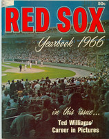 1966 Red Sox Yearbook Excellent Lt wear on cover, contents fine