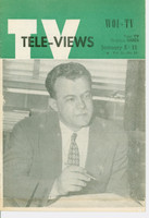 1951 TV Televiews January 5 WOI-TV (16 pg) Iowa edition Excellent - No Mailing Label  [Lt wear on covers, stray print on reverse]