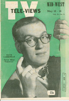 1952 TV Televiews May 10 Dave Garroway (32 pg) Midwest edition Very Good to Excellent  [Wear on covers, contents fine]