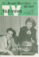 1952 TV Televiews December 29 Pat and Chuck - TV Houseparty (24 pg) Midwest edition Excellent  [Lt wear on covers, contents fine]