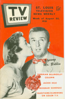 1951 TV Review August 25 Young Mr Bobbin (24 pg) St. Louis edition Excellent - No Mailing Label  [Very clean example]