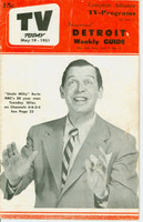 1951 TV TODAY May 19 Milton Berle (24 pg) Detroit edition Very Good - No Mailing Label  [Wear and creasing on cover; contents fine]