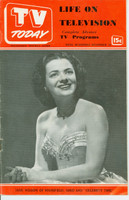 1951 TV TODAY November 10 Jane Wilson (24 pg) Detroit edition Very Good to Excellent - No Mailing Label  [Wear on both covers; contents fine]