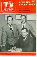 1951 TV TODAY November 17 John Cameron Swayze and the Jones Twins  (24 pg) Detroit edition Very Good to Excellent - No Mailing Label  [Lt wear on cover, contents fine]