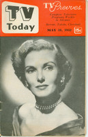 1952 TV TODAY May 31 Anita Colby (32 pg) Detroit edition Very Good - No Mailing Label  [Heavy vertical crease on cover; contents fine]