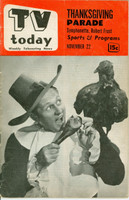 1952 TV TODAY November 22 Art Linkletter (32 pg) Detroit edition Very Good - No Mailing Label  [Heavy wear on cover, creasing; contents fine]