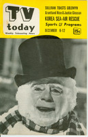 1952 TV TODAY December 6 Nathaniel Hawthorne (32 pg) Detroit edition Very Good to Excellent - No Mailing Label  [Lt wear on cover, contents fine]