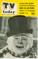 1952 TV TODAY December 6 Nathaniel Hawthorne (32 pg) Detroit edition Excellent  [Lt wear on cover, contents fine, label on reverse]