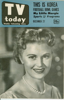 1952 TV TODAY December 13 Bob Dale (32 pg) Detroit edition Fair to Good  [CUT OUT on page 29/30; ow fairly clean; listings fine]