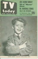 1953 TV TODAY April 10 Child Actor (40 pg) Detroit edition Very Good - No Mailing Label  [Wear on both covers; contents fine]