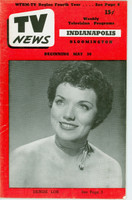 1952 TV News May 30 Denise Lor Indiana edition Very Good to Excellent - No Mailing Label  [Lt wear on cover; contents fine]