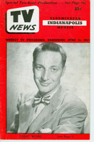 1953 TV News June 12 Garry Moore Indiana edition Very Good to Excellent  [Lt wear on cover; contents fine]