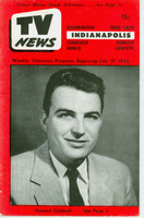 1956 TV News February 17 Howard Caldwell Indiana edition Very Good  [Binding 1/3 split, lt wear on cover; contents fine]