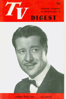 1950 TV DIGEST September 16 Don Ameche (24 pgs) Philadelphia edition Excellent  [Lt wear on cover; contents fine]