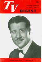 1950 TV DIGEST September 16 Don Ameche (24 pgs) Philadelphia edition Very Good to Excellent  [Sl curl along binding, ow clean]