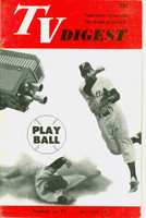 1951 TV DIGEST April 21 Baseball on TV (Phillies) (32 pgs) Philadelphia edition Very Good to Excellent - No Mailing Label  [Lt wear on cover; contents fine]