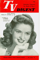 1951 TV Digest May 5 Margot Moser (Kraft Theater) (32 pgs) Pennsylvania State edition Very Good  [Wear on cover; contents fine]