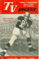 1951 TV DIGEST December 1 Football Player (40 pg) Pennsylvania State edition Very Good to Excellent  [Lt wear on cover, ow clean; label stamped on reverse]