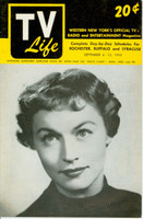 1952 TV Guide and Life September 6 Margaret Garland of Space Cadet (24 pg) Western New York edition Excellent - No Mailing Label  [Lt wear on cover, contents fine]