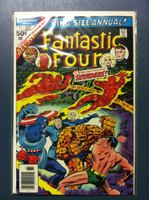 Fantastic Four #11 Annual - #11 And Then - the Invaders ft: Captain America Jun 76 Very Good
