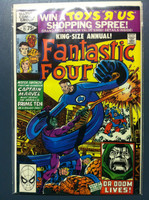 Fantastic Four #15 Annual - #15 Time for the Prime Ten ft: Skrulls Oct 80 Fine to Very Fine