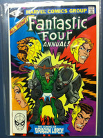 Fantastic Four #16 Annual - #16 The Coming of the Dragon Lord  Oct 81 Near-Mint