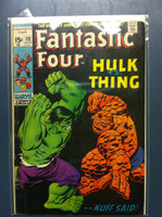 Fantastic Four #112 The Battle of the Behemoths ft : the Incredible Hulk Jul 71 Very Good