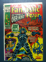Fantastic Four #113 The Power of the Overmind Aug 71 Very Good