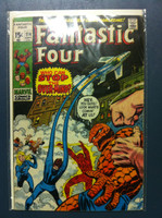 Fantastic Four #114 But Who Will Stop the Over-Mind Sep 71 Very Good