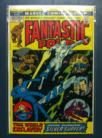 Fantastic Four #123 The World Enslaved Jun 72 Very Good
