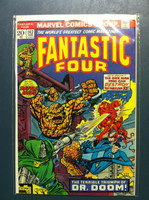Fantastic Four #143 The Terrible Triumph of Doctor Doom Feb 74 Near-Mint