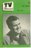 1950 TV FORECAST April 8 Bob Murphy (32 pg) Chicago edition Excellent - No Mailing Label  [Lt toning along binding; ow clean]